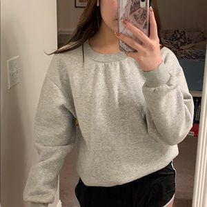 fleece lined h&m sweatshirt